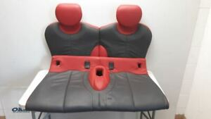 04 2004 Mini Cooper Oem Rear Seat Assembly Black Red Leather Set