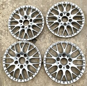 Bmw E39 528i 530i 540i M5 Oem Bbs Rs740 Style 42 17x8 Wheel Center Face Set Of 4