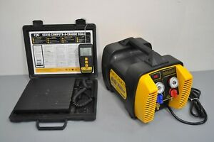 Appion G5 Twin Refrigerant Recovery Machine Unit Cps Cc220 Charging Scale Hvac