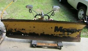 Snow Plow Meyer 6ft Blade Frame Lights Pump Controls Complete For Small Truck