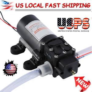12v 60w Transfer Pump Extractor Oil Fluid Diesel Electric Suction Portable Usa
