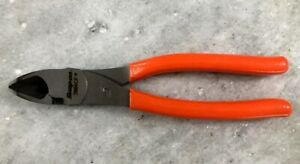 New Snap On Orange High Leverage Diagonal Cutting Pliers 388acf