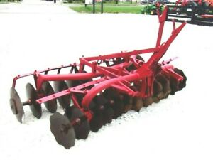 Used 7 Ft Mf 3 Pt Disc Harrow free 1000 Mile Shipping From Ky