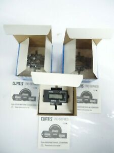 Lot Of 3 Open Box Curtis 700 Digi key 267 1039 nd Time Format 99999 9hrs
