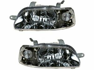 Headlight Assembly Set For 2004 2006 Chevy Aveo 2005 W399rw Headlight Assembly