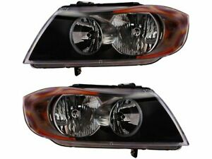 Headlight Assembly Set For 2006 Bmw 330xi C436ct Headlight Assembly
