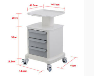 Portable Tool Cart Mobile Trolley Cart For Ultrasound Imaging System Scanner