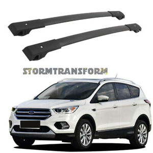 Us Stock Pair Cross Bar For Ford Escape 2012 2019 Luggage Roof Cargo Rack Canoe