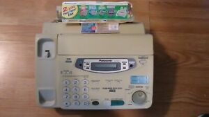 Panasonic Kx fpw111 Compact Plain Paper 2 line Fax And Copier Telephone System