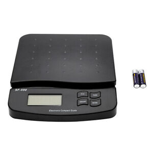 Postal Scale Lcd Digital Shipping Electronic Mail Package Capacity Of 66lb Black