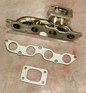 Toyota Yaris Vios Echo 1nz Fe Turbo Exhaust Manifold T3 Stainless Steel 1nzfe