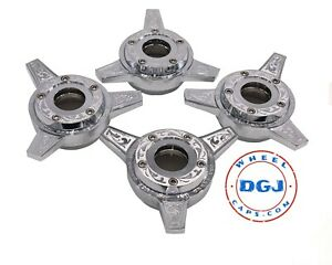 Engraved Zenith 3 Bar Locking Cut Chrome Lowrider Wire Wheel Knock off Spinners