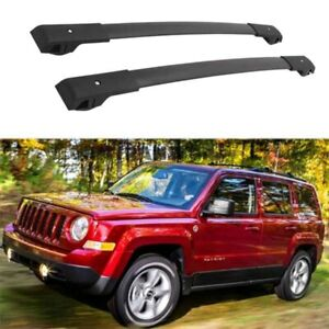 Us Stock Pair Cross Bar For Jeep Patriot 2007 2017 Roof Cargo Durable Rack