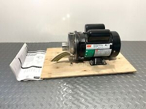 Dayton 5wxr9a Stainless Steel Centrifugal Pump 1 3 Hp 1 Ph P 17