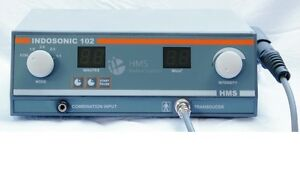 Ultrasonic Therapy Machine 1 Mhz Suitable Underwater 102 Ce Approved Unit Wsdf