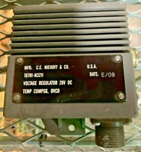 6110 01 566 6406 76761 n3211 Niehoff Voltage Regulator 28v