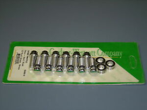 Chevy Small Block Intake Manifold Bolts 12 Point Chrome