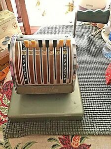 Vintage Paymaster Series S 550 Check Writer With Key