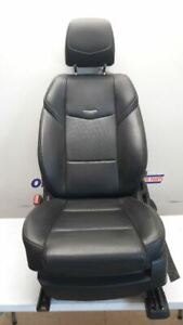 15 2015 Cadillac Ats Driver Left Front Bucket Seat Black Leather Power Memory