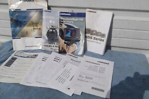 Lowrance HDS 8 & 10 Operators Manual  installation Structure scan.mapping bundle