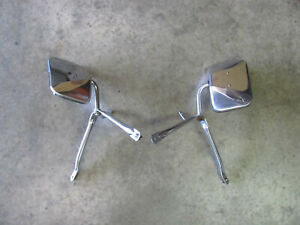Universal Low Mount Truck And Van Mirror Dodge Ford Chevy Ram Rat Hot Rod F100