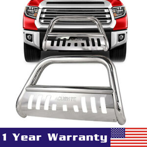For 2007 2020 Toyota Tundra 2008 2020 Sequoia 3 Bull Bar Grill Guard skid Plate