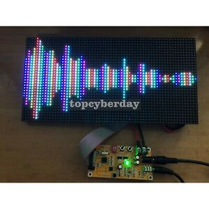 Full Color Led Music Spectrum Display Rgb 64 Mode As128 Sound controller Board