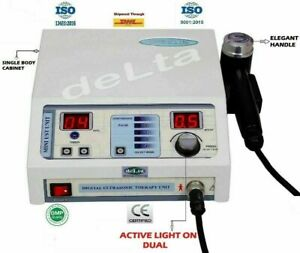 Delta Compact Therapeutic Ultrasound Therapy Physiotherapy With Elegant Handle
