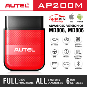 Autel Obd2 Scanner Bluetooth Auto Obdii Diagnostic Scan Tool For Ios Android