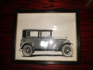 1928 Overland Whippet Model 96 Fisk Balloon Tires 8 X 10 Photo Picture