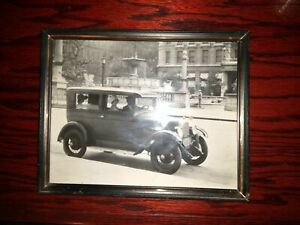 1928 Overland Whippet Model 96 People In Car 8 X 10 Photo Picture