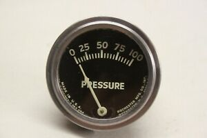 Original 1940 S Car Truck Dash Interior Oil Pressure Gauge Chevrolet Ford Mopar