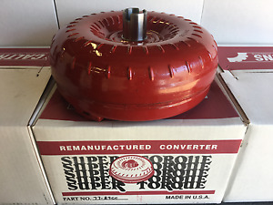 700r4 4l60e High Stall Torque Converter With 2400 2800 Stall Gm 30 Spline