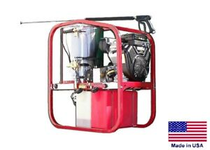 Pressure Washer Coml Hot Cold Steam 3 5 Gpm 4000 Psi 13 Hp Honda