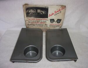 Nos Auto Snak Tray Vintage Car Hop Drive In Food Serving Autotray 40 S 50 S