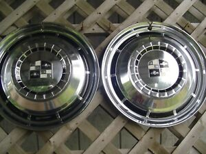 1957 1958 Studebaker Silver Golden Hawk Commander Starliner Hubcaps Wheel Cover