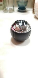 Mini Cooper Oem Gear Shift Knob 5 Speed Leather Chrome 2002 2006 Some 2007