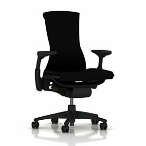 Herman Miller Embody Ergonomic Office Chair Fully Adjustable Arms And Carpet C