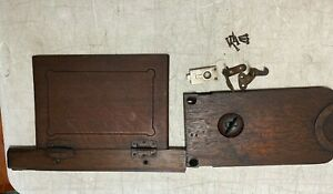 Antique Wilcox Gibbs Treadle Sewing Machine Wood Table Parts