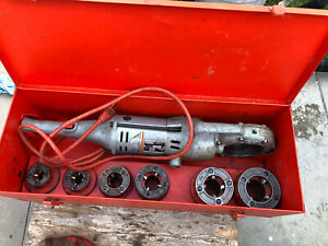 Ridgid 700 Pipe Threader With 12r Dies 1 2 2 And Box