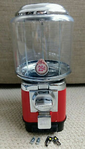 1 Beaver Red Rb16 Gumball Candy Toy Nut Vending Machine Cash Drawer 3 Years old