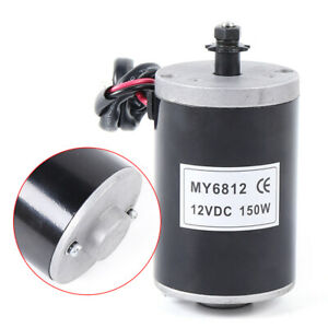 Dc12v 150w Rpm Electric Motor Kit High Speed Controller Dc Motor For E scooter