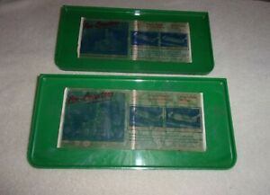 Pair Nos Car Hop Window Food Trays Vintage Drive In Snack Auto Accessory 50 S