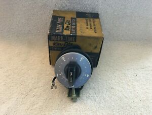 Nos Headlight Automatic Timer Switch Dashboard Accessory Vintage Dash Mounted