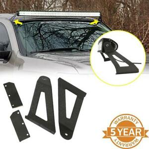 Fit Jeep Cherokee Xj 1984 2001 For 50 Curved Led Light Bar Roof Mount Brackets