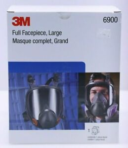 3m 6900 Large Full Face Respirator 3m Filters Included Brand New in Box