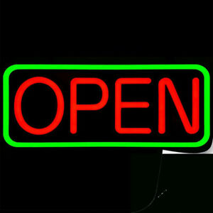 Open For Business Bright Led Neon Sign