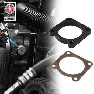 Black Throttle Body Spacer Kit For Jeep Wrangler Jk 2007 2011 With 3 8l Engine