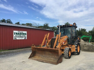 2006 Case 580sm Ii 4x4 Tractor Loader Backhoe W Cab Ext a hoe