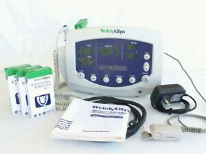 Welch Allyn 53nto Patient Monitor 300 Series W All Accessories New Battery